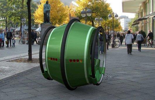 Автомобиль в форме колеса
