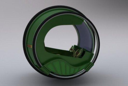 Электромобиль – большое колесо