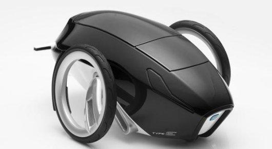 Двухколесный электромобиль Honda type E