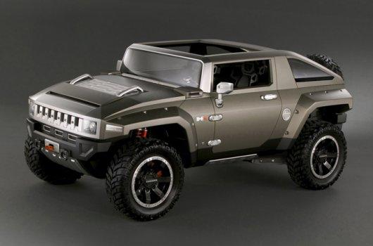 Концепт Hummer HX