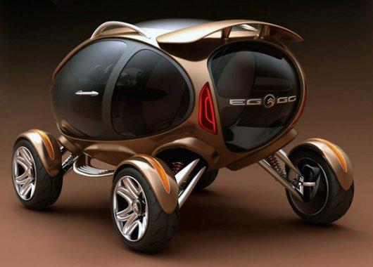 Электромобиль Citroen EGGO