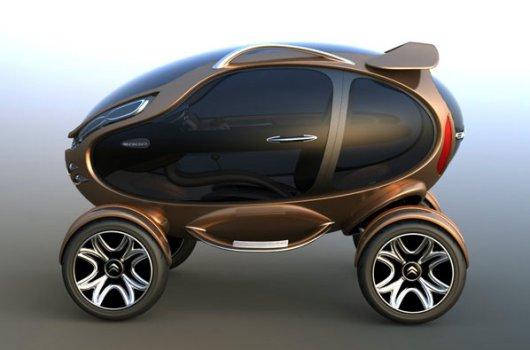 Электрический автомобиль Citroen EGGO
