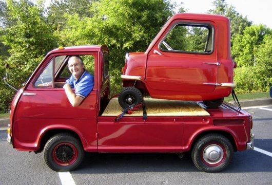 Самый маленький автомобиль Peel P50