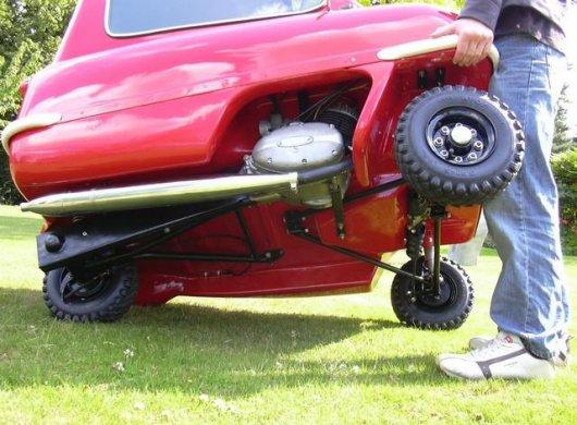 Мотоколяска Peel P50