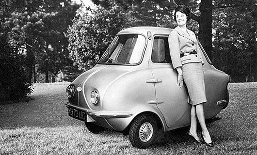 Микроавтомобиль Scootacar Mk I