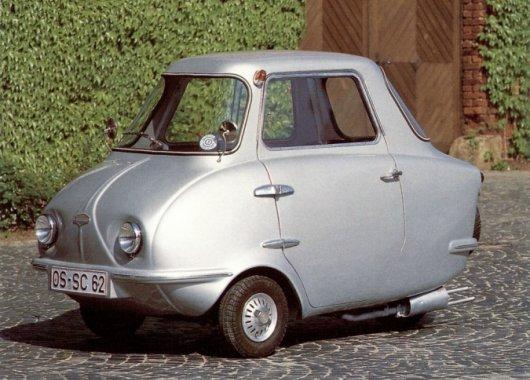 Миниавтомобиль Scootacar Mk I
