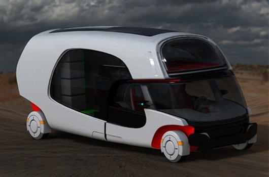 Модульный автомобиль для туризма
