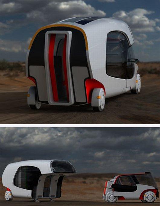 Модульный трейлер RV для туристов
