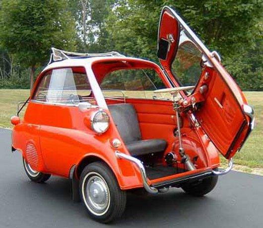 Микроавтомобиль Isetta