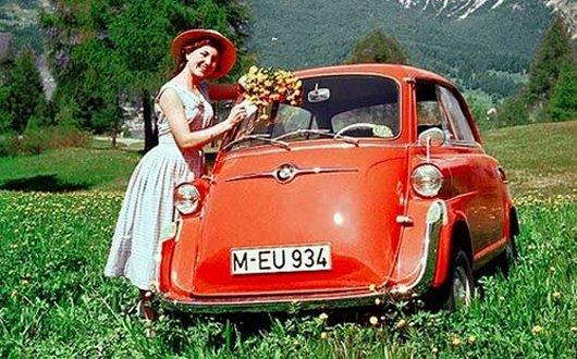 Микролитражка Isetta
