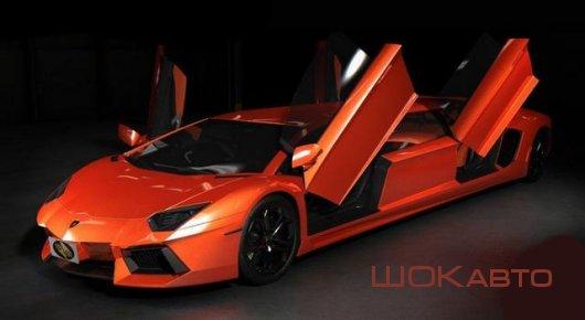 Спортивный лимузин Lamborghini Aventador