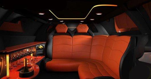 Гоночный лимузин Lamborghini