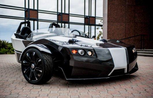 Электромобиль Torq Roadster на трех колесах