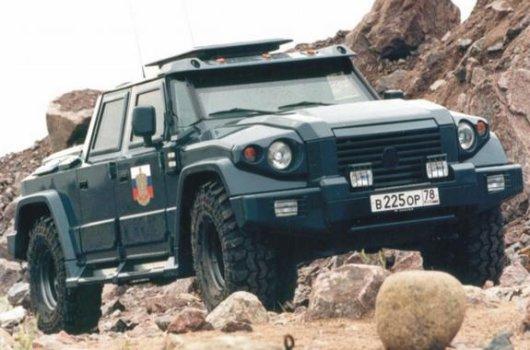 Автомобиль повышенной проходимости Комбат Т98