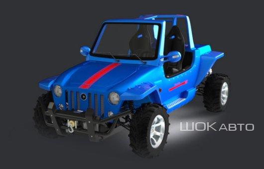 Мини-джип Discovery Sport