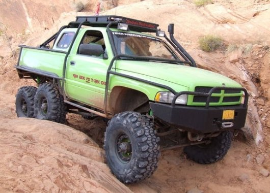 Автовездеход Dodge Ram T-Rex 6×6