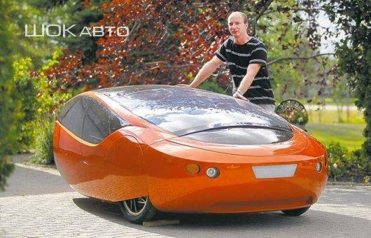 Гибридный автомобиль Urbee