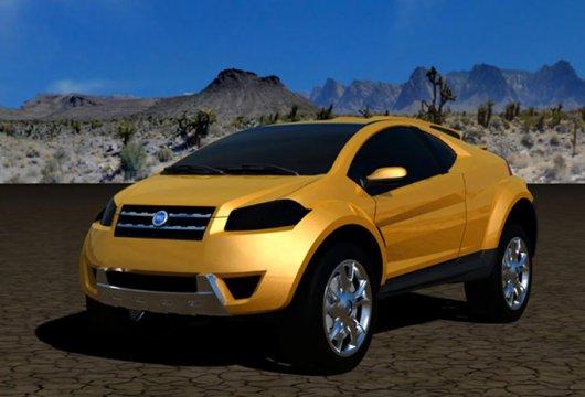Автомобиль Fiat FCC Adventure
