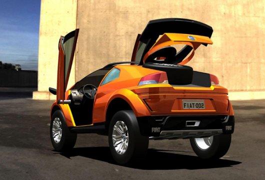 Кроссовер Fiat FCC Adventure