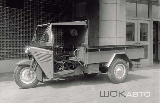 Грузовой мотороллер Mazda-GLU