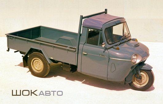 Грузовой автороллер Mazda T1500