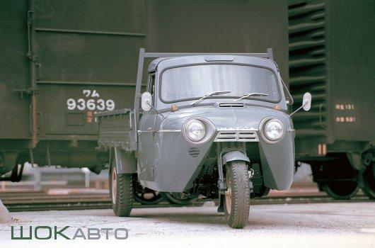 Трехколесный минигрузовик Mazda T2000
