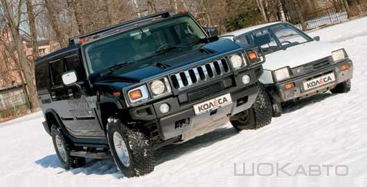 Hummer H4 из Оки