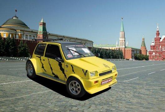 Раллийный, спортивный и гоночные автомобили ОКА