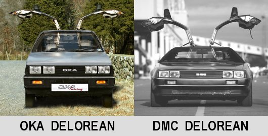 Auto OKA-Tuning and sportcar DMC-DeLorean