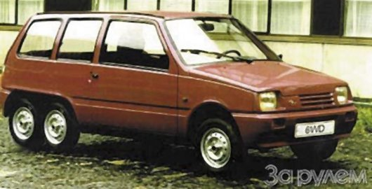 Стретч-лимузин Ока 6WD