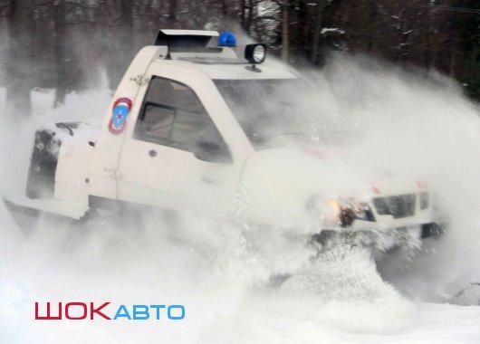 Снегоходы на базе автомобилей Ока