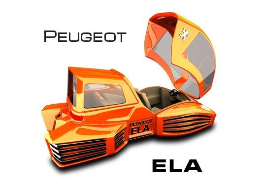 Аэромобиль Peugeot ELA