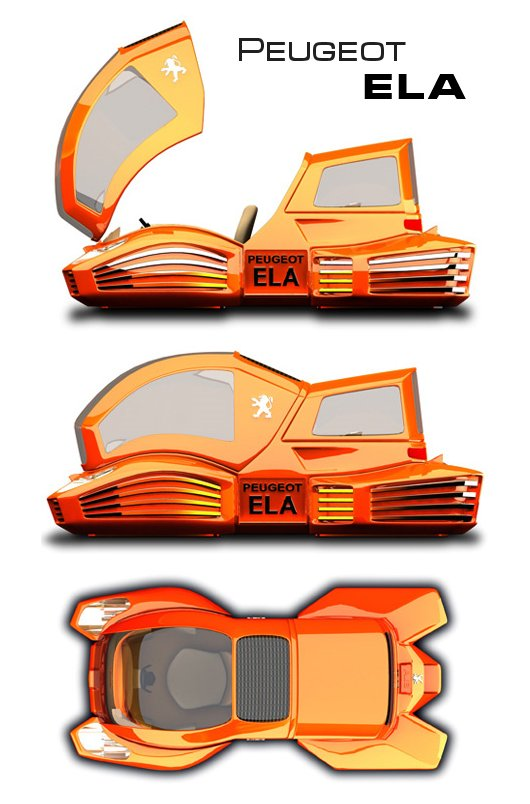 Concept Car Peugeot ELA