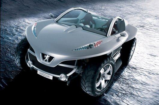Спортивный автомобиль Peugeot Hoggar