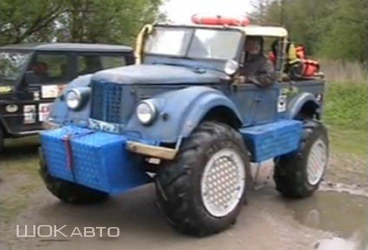 Как сделать амфибию из ГАЗ-69?