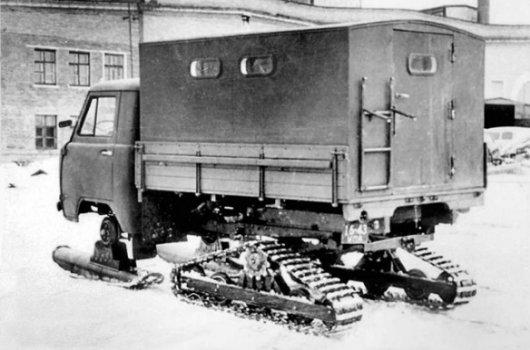 Гусеничный грузовик УАЗ-451С