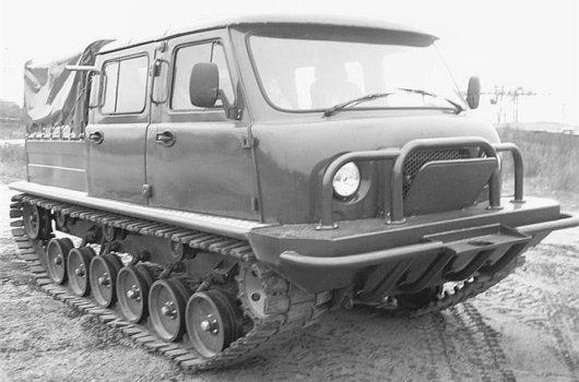 Автовездеход УАЗ «Узола»