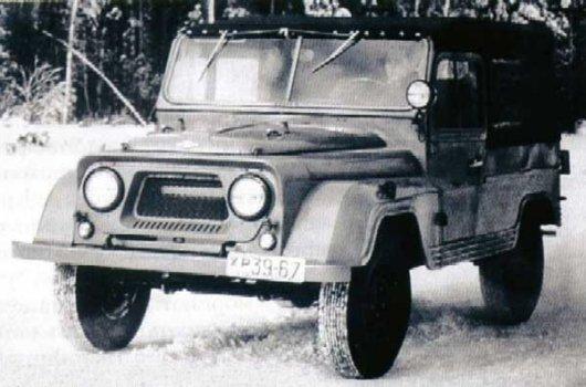 Трехдверный джип УАЗ-460