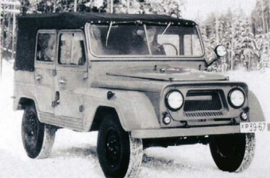 Пятидверный внедорожник УАЗ-460