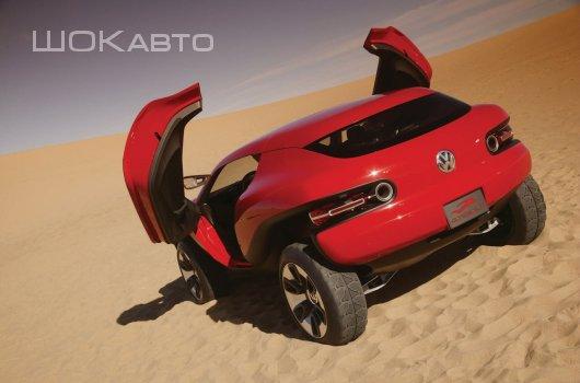 Спортивный джип VW Concept T 2004