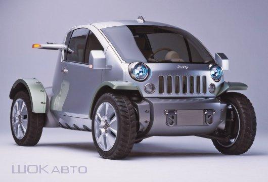 Городской кроссовер Jeep Treo Concept