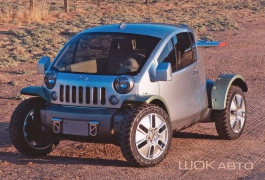 Urban Mobility Vehicles Jeep Treo