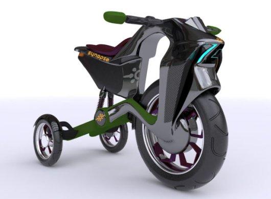 Велосипед с электроприводом Синапс