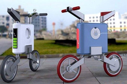 Велосипед Patrolman с электродвигателем