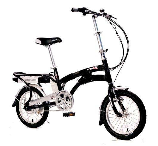 Электрический складной велосипед Urbanlit-e 1603