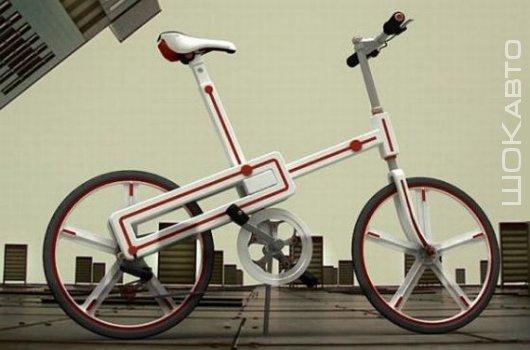 Электрический велосипед Tetris