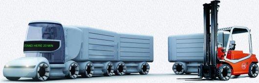 Легкий грузовик Ant-City Transport