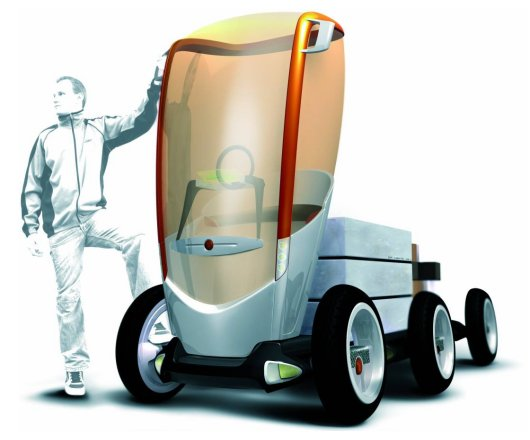 Cargo Floater: Future Mobility System