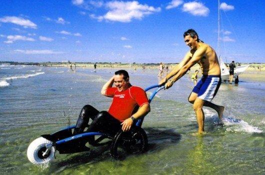 Инвалидная коляска для активного отдыха