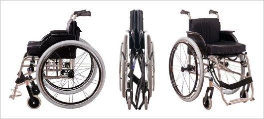 Инвалидная коляска Крошка Ру с ручным приводом от обода